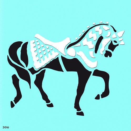 306 שבלונה סוס