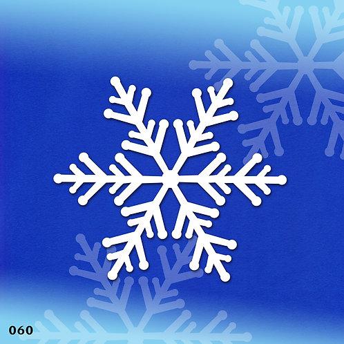 060 שבלונה פתית שלג