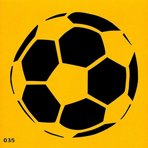 035 שבלונה כדורגל