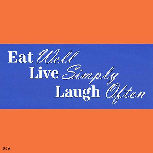 556 שבלונה EAT-LIVE-LOVE