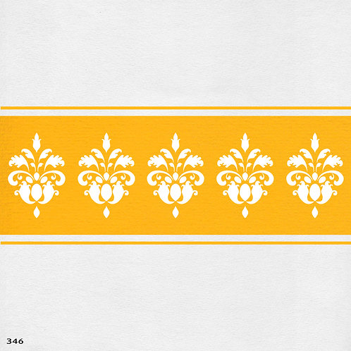 346 שבלונה בורדר עיטור קלאסי