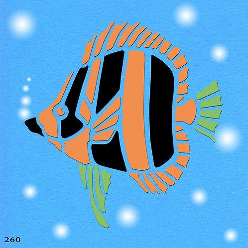 260 שבלונה דג