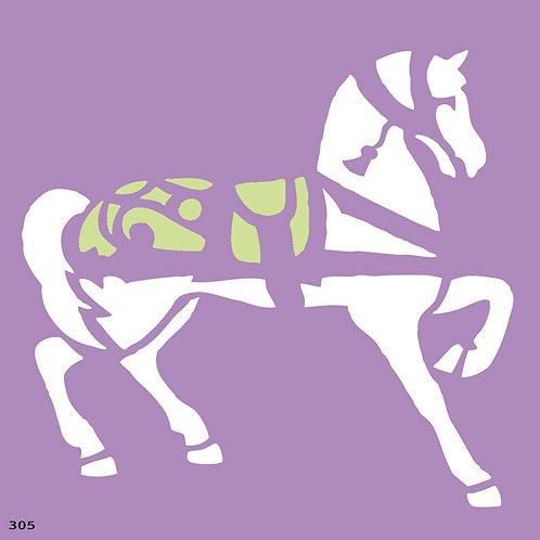 305 שבלונה סוס