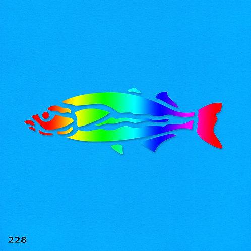 228 שבלונה דג