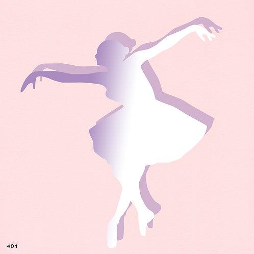 401 שבלונה רקדנית בסגנון קלאסי