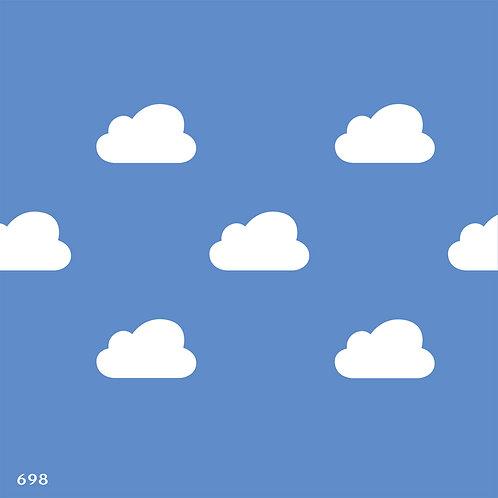 698 שבלונה טפט עננים