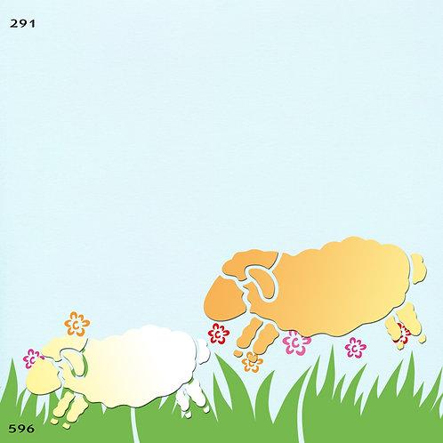 291 שבלונה כבשים