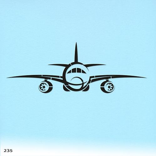 235 שבלונה מטוס סילון גלאקסי