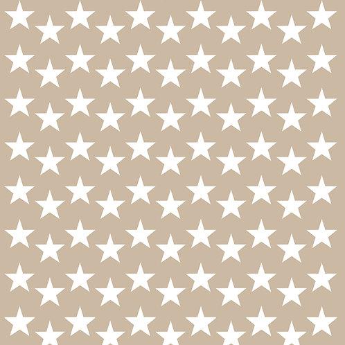 642 שבלונה טפט בדוגמת כוכבים