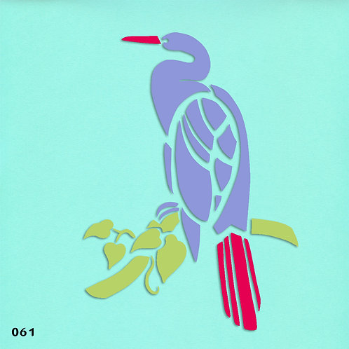 061 שבלונת ציפור על ענף