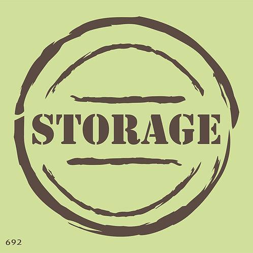 692 שבלונה STORAGE