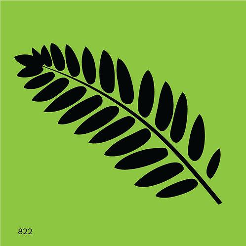 822 שבלונה ענף טרופי
