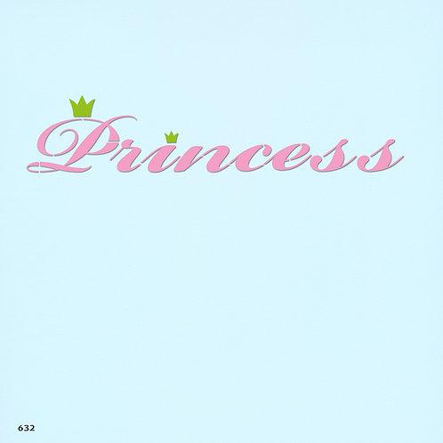 632 שבלונה PRINCESS