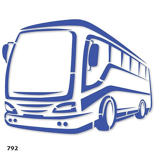 792 שבלונה אוטובוס