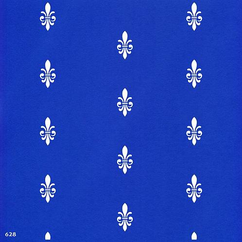 628 שבלונה טפט בדוגמת עיטור קלאסי מלכותי