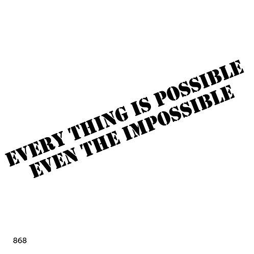 868 שבלונהevery thing is possible