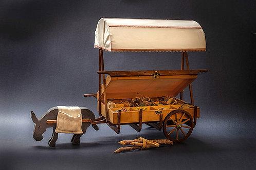דגם עגלה בסגנון דוכן למזון 1005001