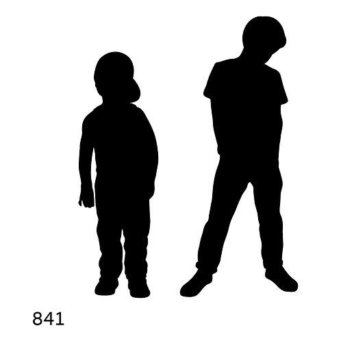 841 שבלונה ילד ונער