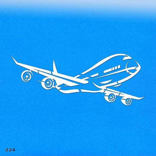 224 שבלונה מטוס סילון ג'מבו
