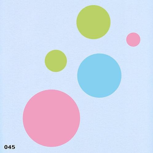 045 שבלונה עיגולים
