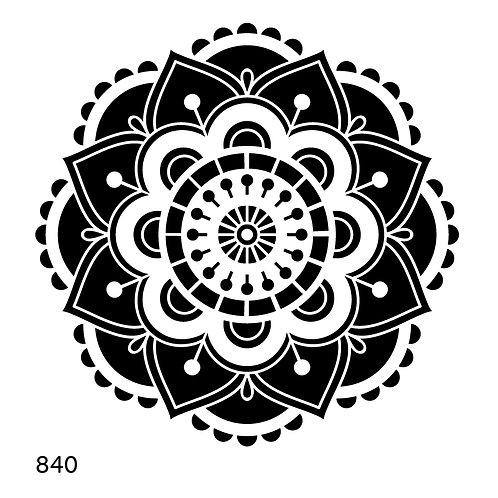 840 שבלונה מנדלה