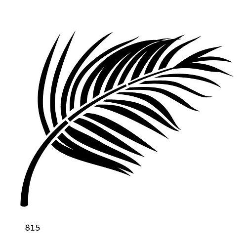 815 שבלונה ענף עץ דקל