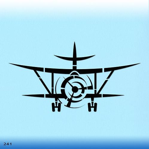 241 שבלונה מטוס ססנה