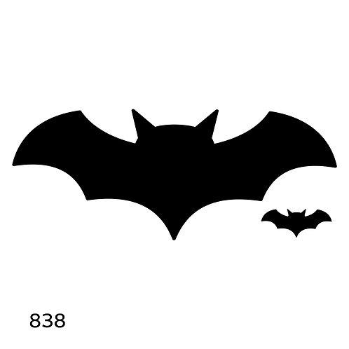 838 שבלונה עטלף כמו בט-מן