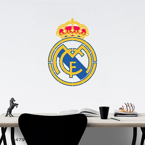 479 שבלונה קבוצת ריאל מדריד בכדורגל