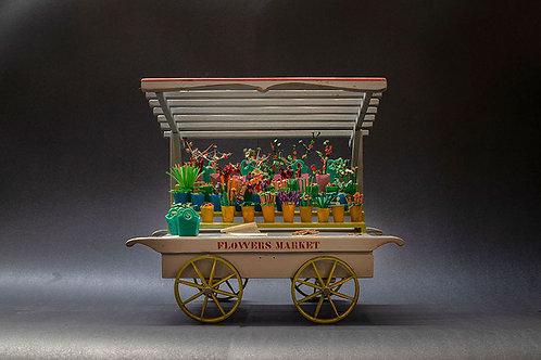 דגם עגלה בסגנון דוכן למזון 1005002