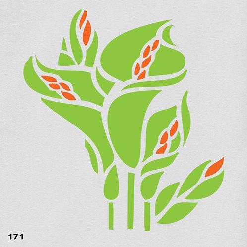 171 שבלונה פרחים -זר קלות