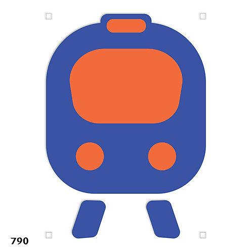 790 שבלונה רכבת תחתית METRO,  UNDERGROUND