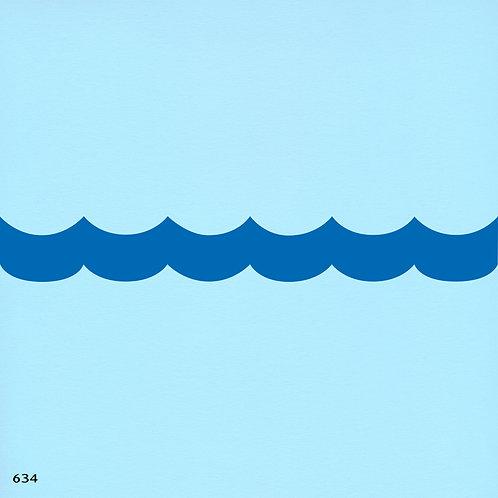634 שבלונה גל בים