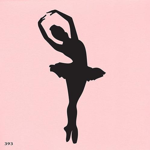 393 שבלונה רקדנית בסגנון קלאסי
