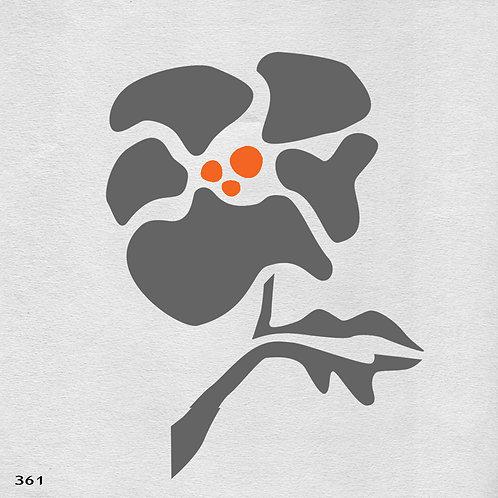361 שבלונה פרח דמיוני