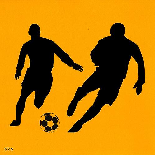 576 שבלונה שחקני כדורגל
