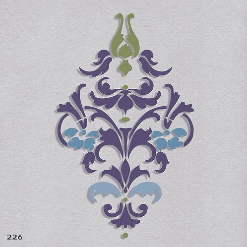 226 שבלונה עיטור קלאסי