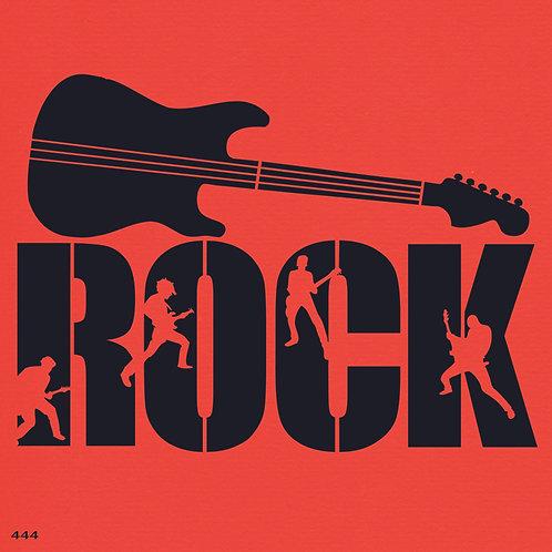 444 שבלונה ROCK MUSIC