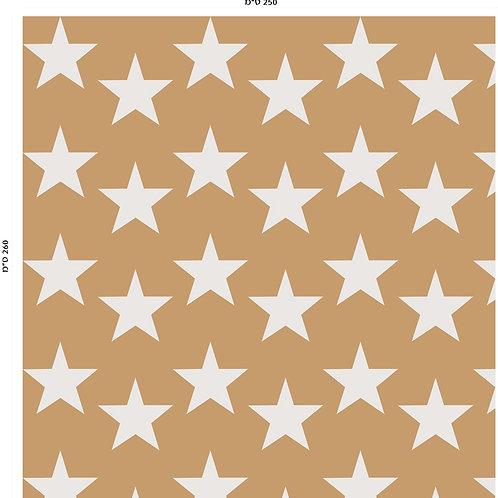643 שבלונה טפט בדוגמת כוכבים