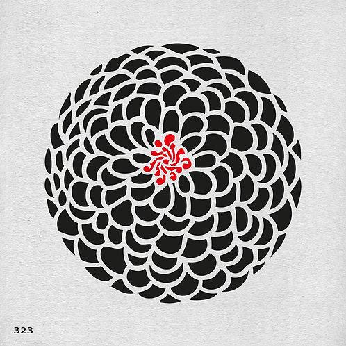 323 שבלונה פרחים