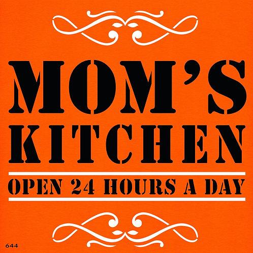 644 שבלונה ...MOM'S KITCHEN