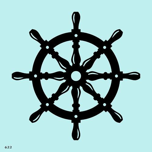 622 שבלונה הגה ספינה