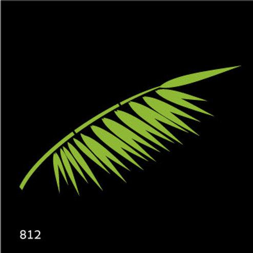812 שבלונה ענף עץ דקל
