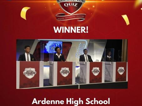 Ardenne High School Wins SCQ Trophy