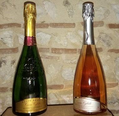 Cuvée Cybèle - Méthode traditionnelle Blanc ou Rosé, Vignbles Nicolas