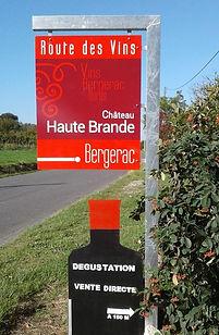 Châtea Haute Brande - Route des vins de Bergerac