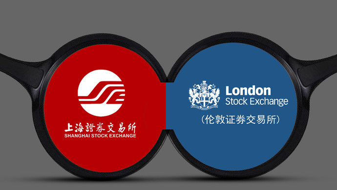 logo of Shanghai Stock Exchange and London Stock Exchange
