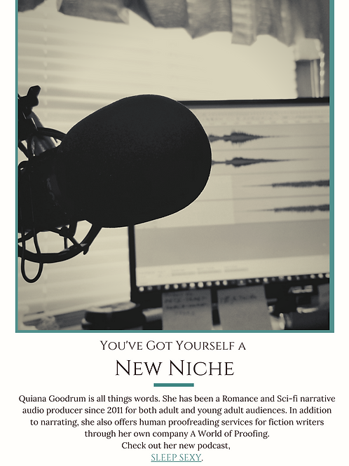 How to Find Your Narrator Niche (Audiobook)