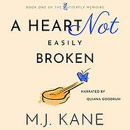audiobook  a heart not easily broken narrated by quiana goodrum