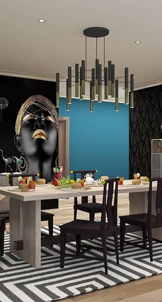 Design A Rose Interiors Dining room interior design